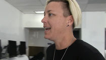 Abby Wambach: Adam Rippon 'Can Handle Himself,' In Pence Drama