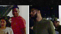 OKC Thunder Stars Turn Up After Getting Turned Out At Staples