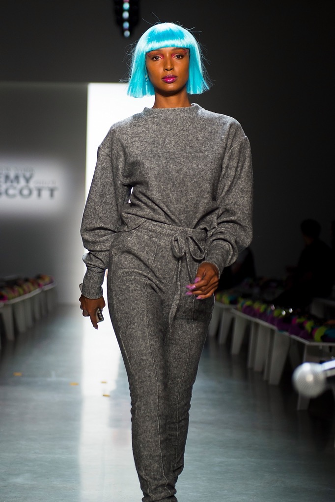 Models walk for jeremy scott and tom ford at new york for Ford models new york
