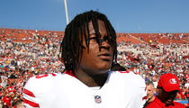 49ers' Reuben Foster Arrested on Domestic Violence, Assault Weapon Charges