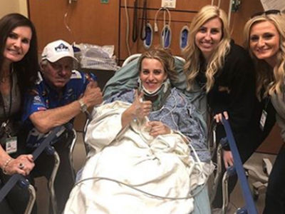 NHRA Driver Brittany Force Hospitalized After Scary Crash