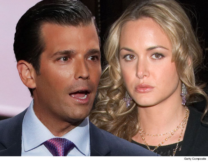 Wife of Donald Trump Jr exposed to white powder, hospitalised