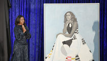 Barack and Michelle Obama's Portrait Unveiled at Smithsonian