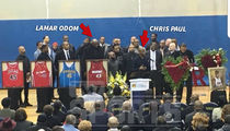 Huge NBA Stars Attend Rasual Butler Funeral, Deliver Emotional Chant