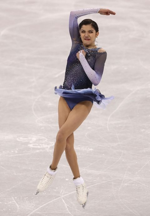 Evgenia Medvedeva of Olympic Athlete from Russia