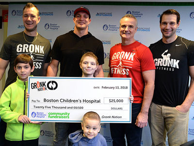 Gronk Hitting 3 Children's Hospitals In 24 Hours, Everyone Gets a Check!