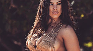 Ashley Graham dances topless in new Sports Illustrated Swim video