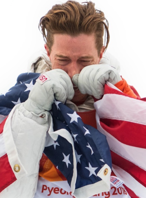 Shaun White Wins Gold in PyeongChang