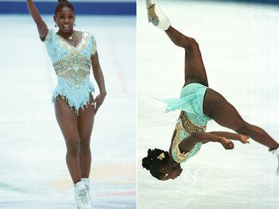 Backflipping Figure Skater Surya Bonaly 'Memba Her?!