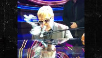 Elton John Stunned and Silenced After Mardi Gras Beads to the Mouth