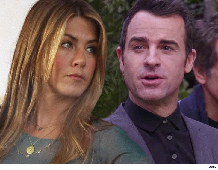 Jennifer Aniston & Justin Theroux Said Goodbye... on Valentine's Day