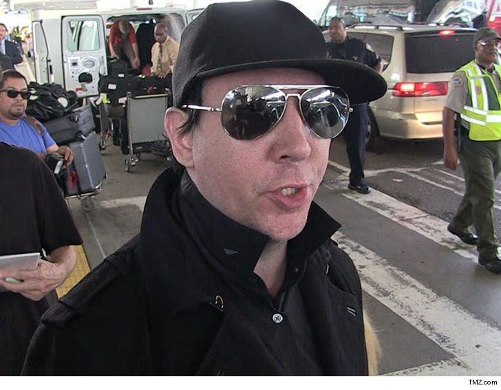 Marilyn Manson 'has meltdown and rants at fans' during show