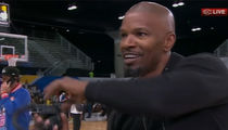 Jamie Foxx -- Cuts Off ESPN Interview ... Over Katie Holmes Question
