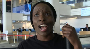 'Black Panther' Star Says Ronda Rousey Ain't Superhero Material
