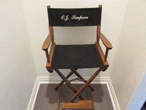 O.J. Simpson's 'Naked Gun' Chair