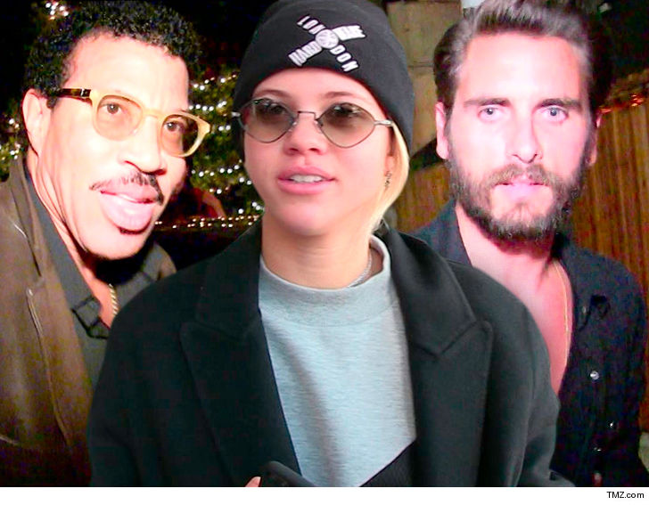 Lionel Richie brands teen daughter's romance with Scott Disick as a 'phase'