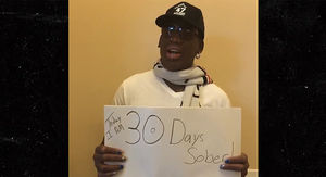 Dennis Rodman Hits Rehab Milestone, Sober for 30…