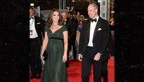 Kate Middleton Breaks BAFTA's Time's Up All-Black Dress Code
