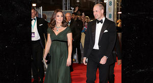 Kate Middleton Breaks BAFTA's Time's Up All-Black Dress Code with Green Dress