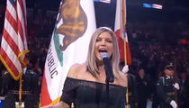 Fergie Apologizes for NBA All-Star Game National Anthem