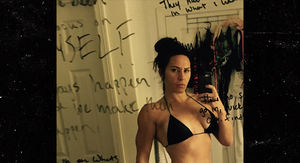 UFC's Cat Zingano Crushes Black Bikini Before UFC Return