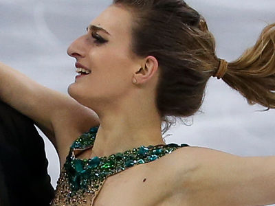 Olympian Suffers WARDROBE MALFUNCTION on the Ice -- 'Kind of My WORST Nightmare'
