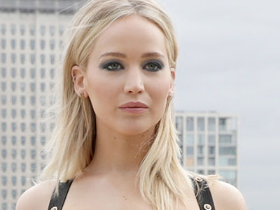 Jennifer Lawrence's HOTTEST Look Ever? Serious Cleavage and Major Leg In London!