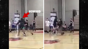 Dwight Howard Kinda Gets Dominated In College Pick-Up Game