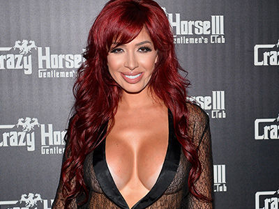 Wait'll You See What Farrah Abraham Thinks About MTV Firing Jenelle Evan's Husband!