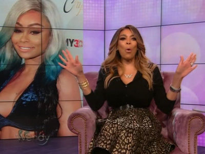 How Wendy Williams SLAMMED 'Lazy' Blac Chyna's Sex Tape -- and Rob Kardashian, Too!