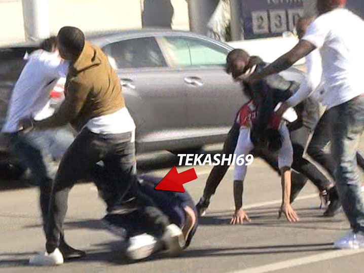 022118 six nine primary 1200x630 1 - Rap Artist Tekashi69 and Crew in Massive Brawl at LAX