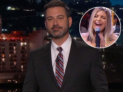 Kimmel TAKES SHOT at Fergie's National Anthem While Explaining His Televised Reaction
