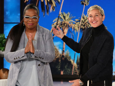 Oprah Winfrey Reacts to Trump's Twitter TAUNT -- As Ellen Says 'Oh No You Didn't!'