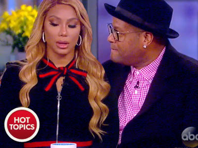 Tamar & Vince GRILLED on Rumors He Knocked Up Another Woman, Braxton Spills on 'Real' Firing!