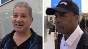 Sugar Ray Leonard & Bruce Buffer Bro Out, Then Disagree on Floyd vs. Conor