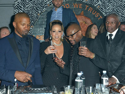 Floyd Mayweather Throws Birthday Party with Guests Including Mariah Carey, Jamie Foxx