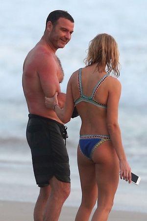 Liev Schreiber and girlfriend Taylor Neisen -- What a Catch
