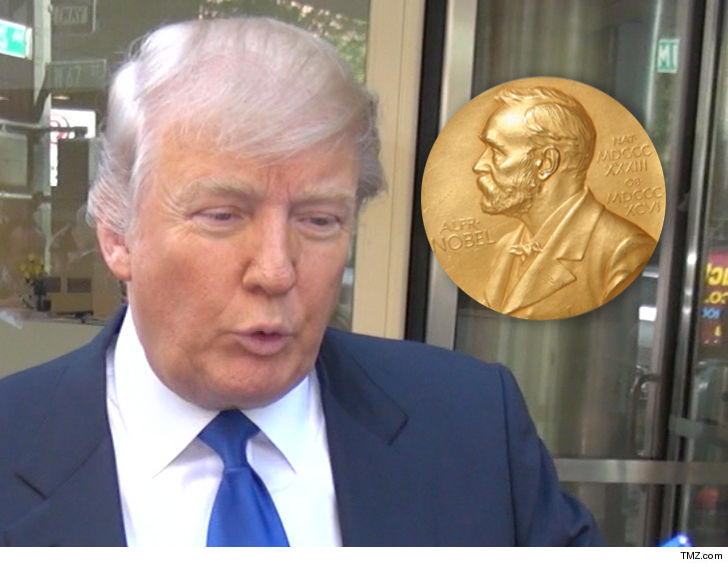 Someone forged a Nobel Peace Prize nomination of Trump, Norwegian officials say
