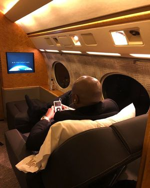 Floyd Mayweather's New Jet