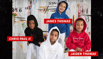 Carmelo, Chris Paul & Isaiah Thomas: Diddy Made Our Sons Supermodels!!