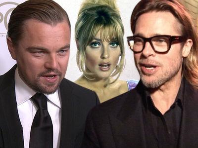 Leonardo DiCaprio & Brad Pitt Taking Heat for Manson Murder Movie from Sharon Tate Family