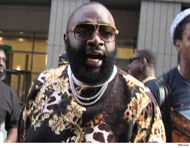Rick Ross hospitalised after being found unresponsive at his home