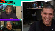 UFC's Brian Ortega Says He'd Fight TMZ Host's Grandma for Big Money