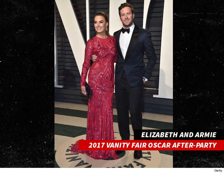 Armie Hammer Wife Sues Impersonator She's Trying to Score Oscar Party Invite!!!