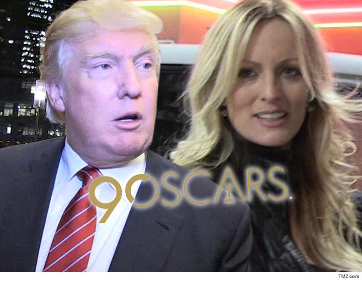 The Oscars Plan to Rip Trump Over Stormy