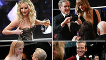 90th Oscars Was Jennifer Lawrence's Wine Night Behind the Scenes
