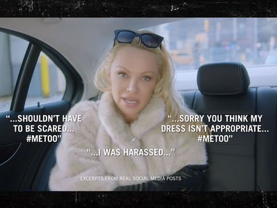 Pam Anderson Takes Ride-hail Apps to Task with 'Terms & Conditions'