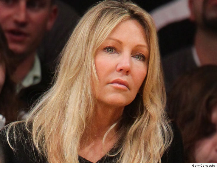 Heather Locklear Allegedly Told Cops Her Boyfriend Tried To Choke & Kill Her!