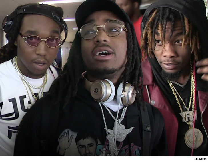 Based rap group Migos being sued for 'inciting riots'