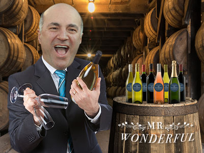 Kevin O'Leary Files Trademark for New Booze Brand 'Mr. Wonderful'